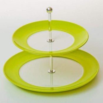 Горка вехтерсбах - зеленая 2-х ярусная