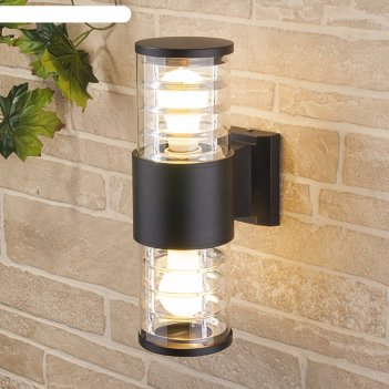 Светильник elektrostandard садово-парковый, 2х60вт, e27, ip54, настенный,