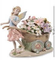 Cms-15/64 муз. фигурка цветочная фея (pavone)