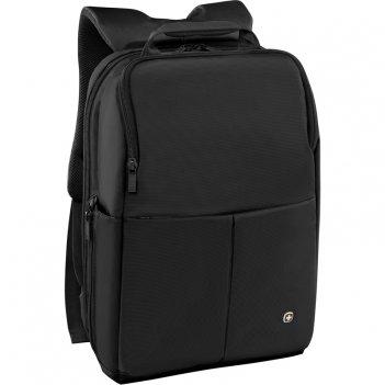 Рюкзак для ноутбука 14'' wenger, черный, нейлон/полиэстер, 28 x