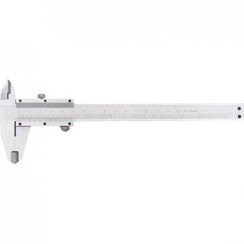 Штангенциркуль, 200 мм, цена деления 0,02 мм, металлический, с глубиномеро