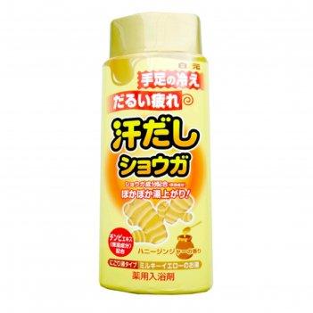 Соль для ванны hakugen earth bath king, с восстанавливающим эффектом, на о