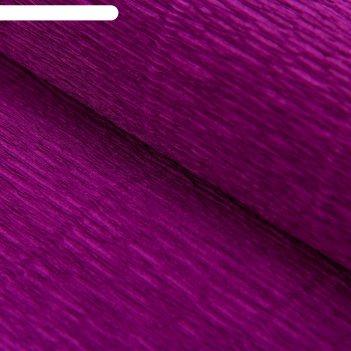 Бумага гофрированная, 593 фиолетовая, 0,5 х 2,5 м