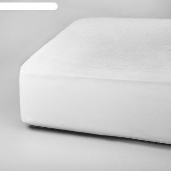 Наматрасник с бортом «беринг +», размер 90 x 200x 30 см, цвет белый