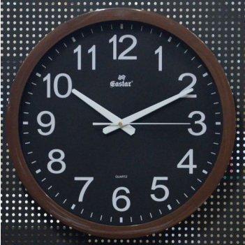 Часы настенные, кварцевые с плавным ходом gastar