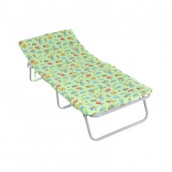 Кровать раскладная детская соня-м1, с матрасом 4 см, цвет микс