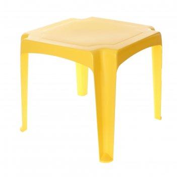 Детский стол, цвет жёлтый