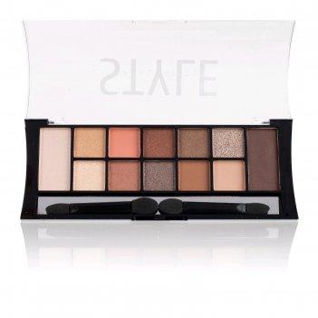 Тени для век tf style palette eyeshadow fashion, тон 903c nude