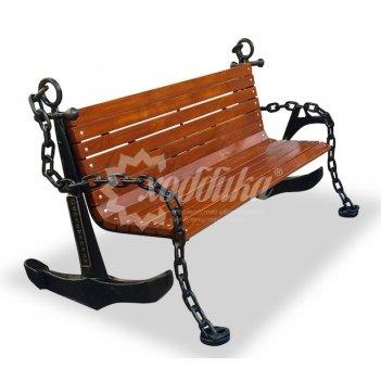 Скамейка «якорь» 1,5 м