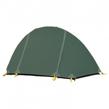 Палатка, серия trekking bike base, зеленая, одноместная