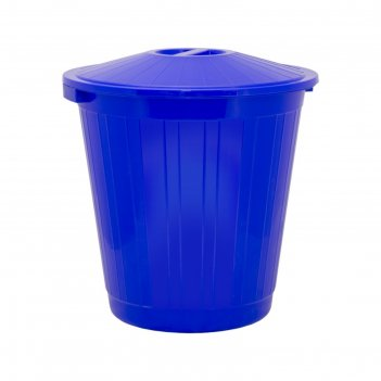 Бак с крышкой 70л синий