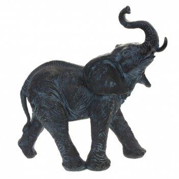 Фигурка декоративная слон, l34 w17 h35 см