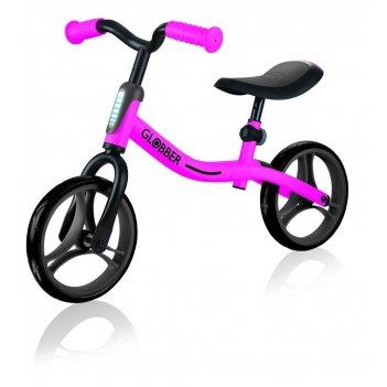 Беговел globber go bike розовый (610-110)