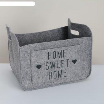 Органайзер для хранения sweet home, 37х28х22см