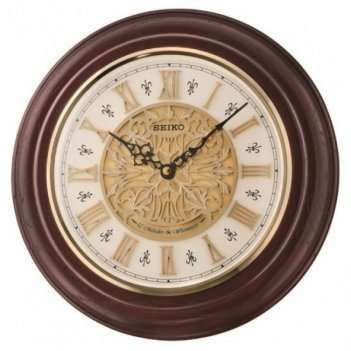 Настенные часы seiko qxm342b