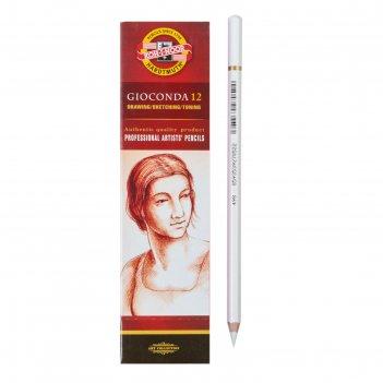 Уголь белый в карандаше k-i-n gioconda 8812/2