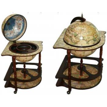 Глобус бар brigant сокровища древнего мира напольный d=4