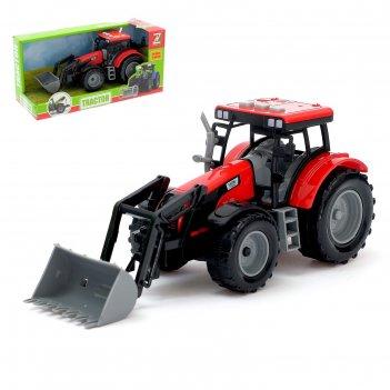 Трактор инерционный фермер, микс