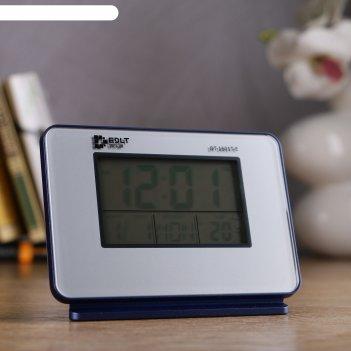 Часы электронные кайро (будильник, дата, термометр, аудио на английском яз