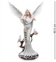 Ga-81 статуэтка белый ангел с воронами
