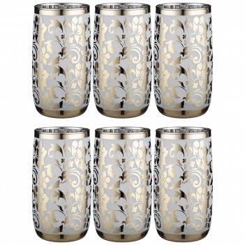 Набор стаканов из 6 шт бельведер 330 мл