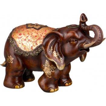 Фигурка слон интерьерный духовное развитие личности высота=29,5 см (кор=4