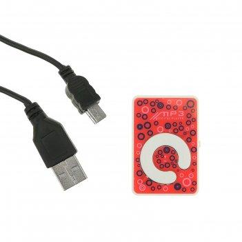 Mp3-плеер, акб, microsd, miniusb 5pin, с наушниками, микс