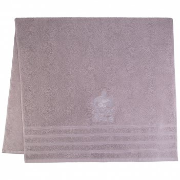 Полотенце банное 90х160 мужик всегда прав, 450 г/м2,махра, х/б 100%,серый