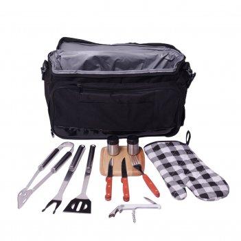 Термосумка с набором для пикника из 11 предметов скаут 0719