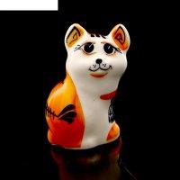 Статуэтка фарфоровая «кошка туземка», 6,5см