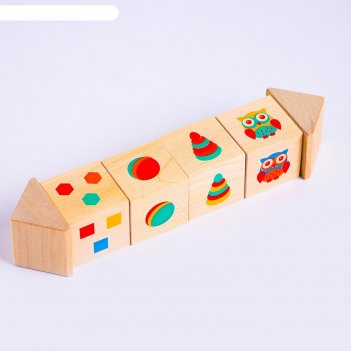 Кубики на оси подбери цвета и707