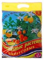 Почвогрунт для комнатных растений 5 л (3,1 кг) цитрусовые