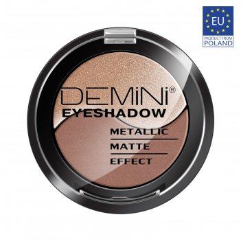 Тени для век demini metallic matte effect eye shadow, тон 806