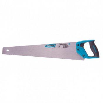 Ножовка по дереву piranha, 550 мм, 11-12 tpi, зуб-3d, каленый зуб, двухком