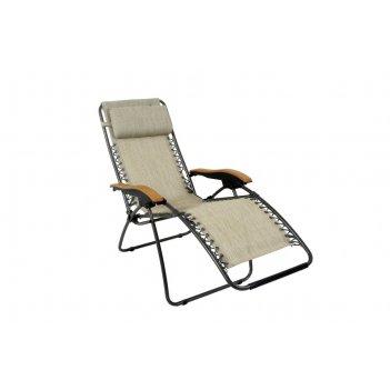 Кресло-шезлонг canadian camper (подлокотники - дерево)
