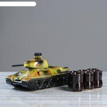 Набор винный танк 7 предметов, 1л