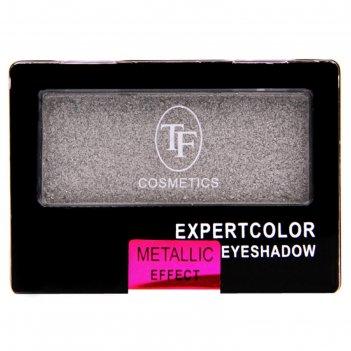 Тени для век tf eyeshadow mono с эффектом металлик, тон 151 aluminum foil