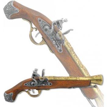 de-1219-l пистоль английский, 18 век