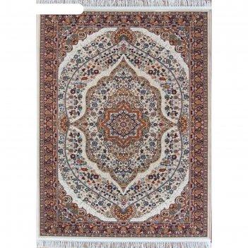 Прямоугольный ковёр isfahan d511, 280x470 см, цвет cream