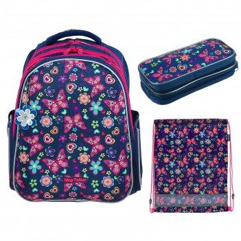 Рюкзак каркасный mag taller stoody ii, 40 х 30 х 20 см, для девочки, с нап
