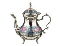 Чайник цветная эмаль высота=20 см.