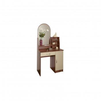 Стол туалетный «надежда-м 09», 804 x 390 x 1650 мм, зеркало, ясень шимо тё
