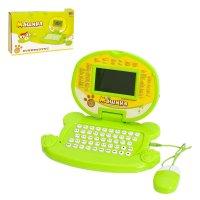 Компьютер обучающий мишка с мышкой, 120 заданий, 2 языка: русский, английс