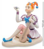 Cms-23/62 статуэтка клоун-скрипач (pavone)