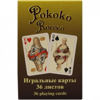 Карты игральные рококо , 36 карт