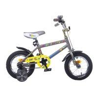 Велосипед 12 graffiti spector 2017, цвет: серый
