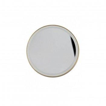 Зеркало gezatone lm100, подсветка, 14 x 20,8 x 7 см, увеличение х10, 4*ааа