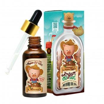 Аргановое масло для лица, тела и волос elizavecca farmer piggy, 30 мл