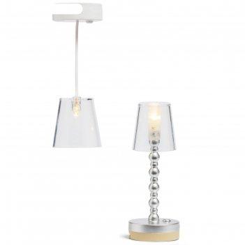 Освещение для домика, торшер и потолочная люстра