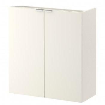 Шкаф под раковину лиллонген, 2 дверцы, белый, 60x25x64 см